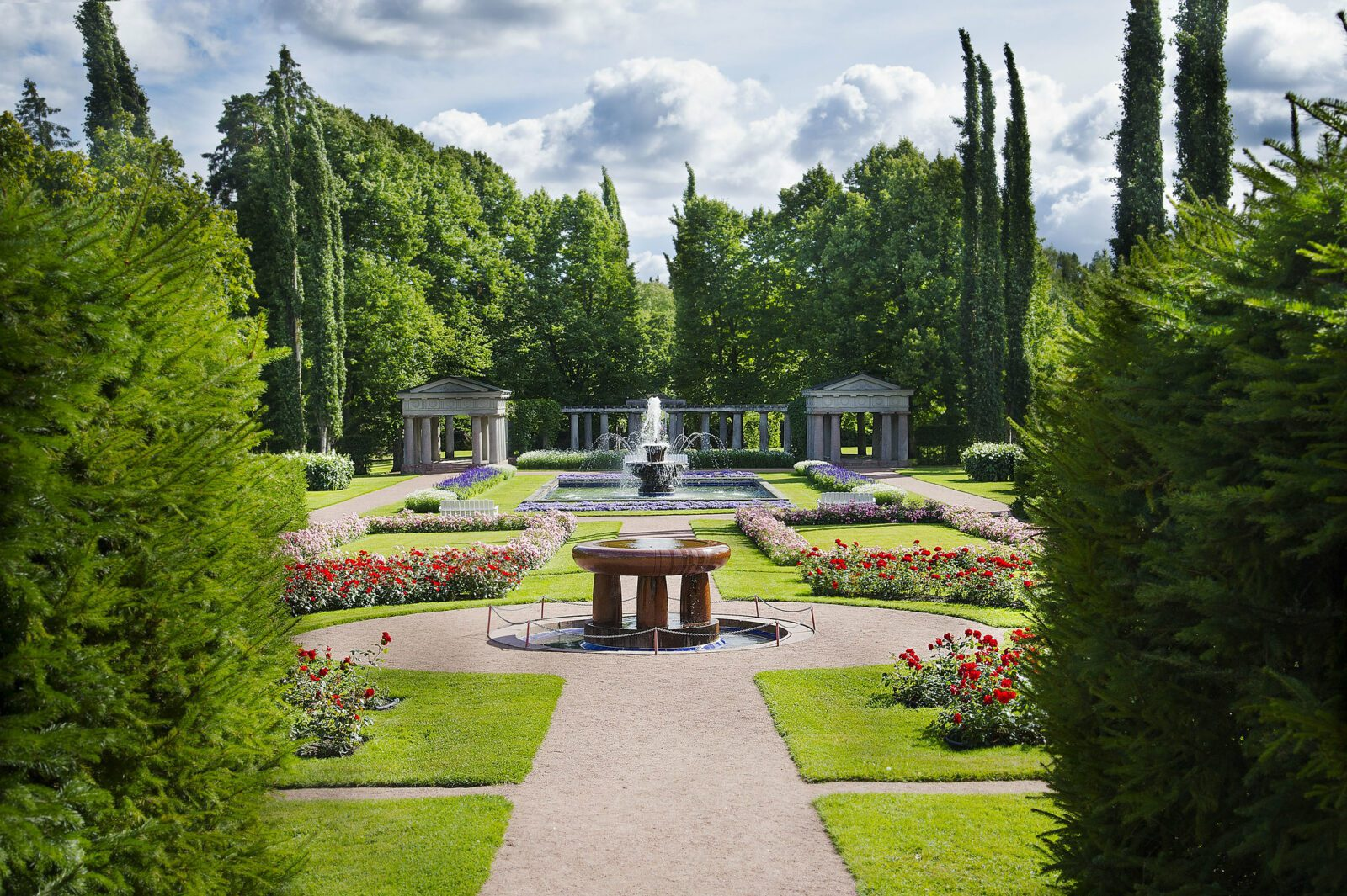 Kuva Kultarannan puutarhasta