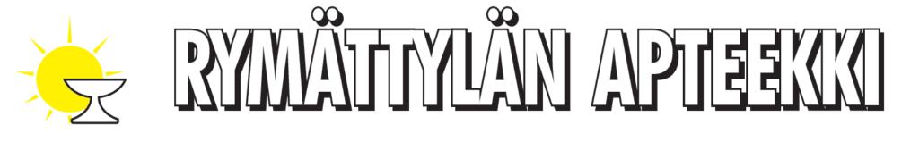 Rymättylän apteekin logo.
